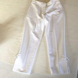 Kate Spade white pants sz 6